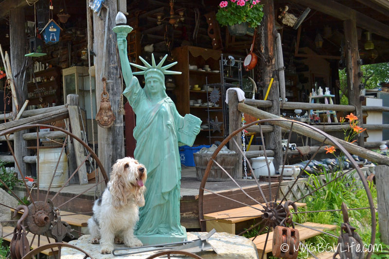 My GBGV Life with statue of liberty