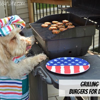 Grill Burgers For Dogs On Labor Day