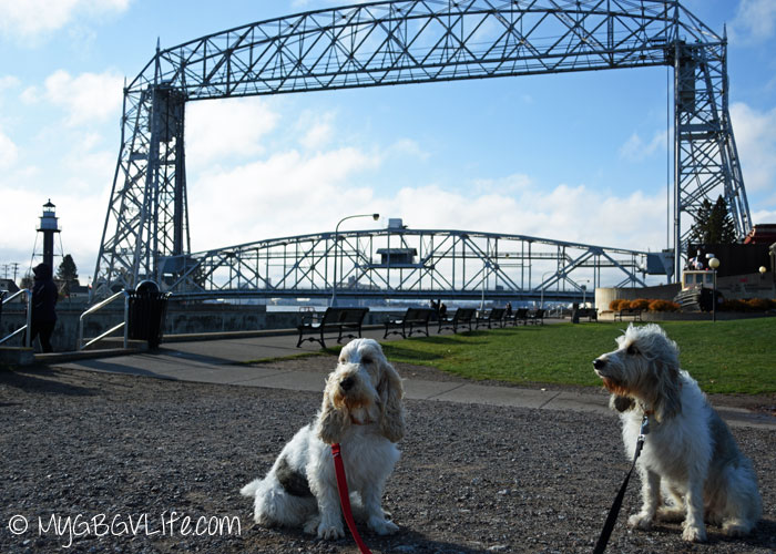 My GBGV Life at the aereal lift bridge in duluth