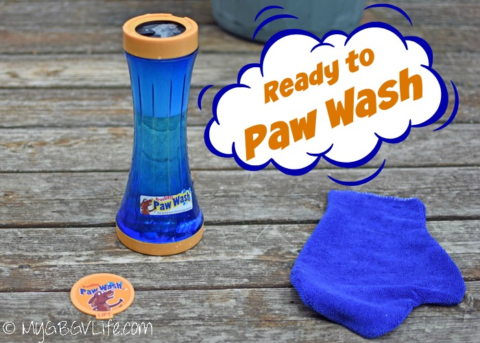 """My GBGV Life The Paw Wash - Say """"No"""" To Dirty Paws"""