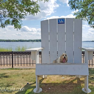 Big Adirondack Chair, Little GBGV