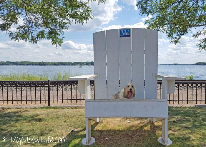 My GBGV Life Big Adirondack Chair, Little GBGV