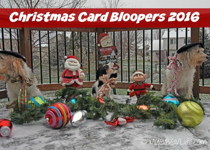My GBGV Life Christmas Card Bloopers 2016