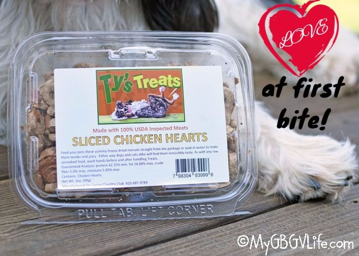 My GBGV Life Sliced Chicken Hearts - Love At First Bite For The Food Snob
