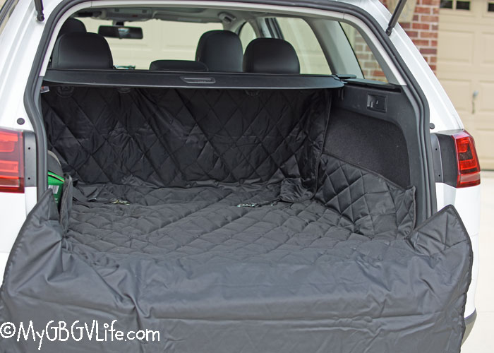 My GBGV Life Keep Your Car Clean As A Whistle With 4Knines Cargo Liners!