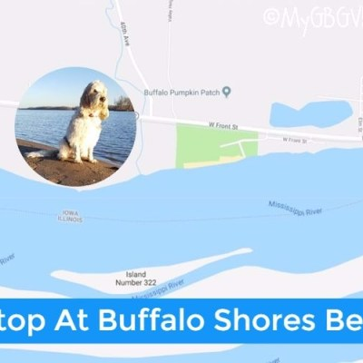 A Stop At Buffalo Shores Beach On Our Road Trip
