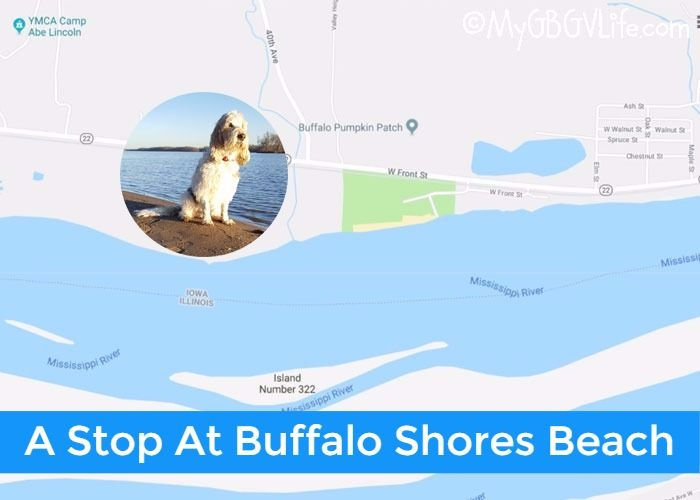 My GBGV Life A Stop At Buffalo Shores Beach On Our Road Trip