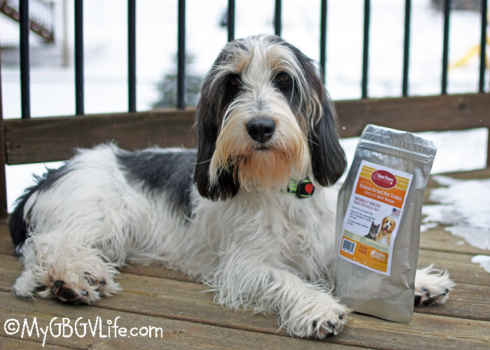My GBGV Life Triple Goodness With Raw Paws All Natural Dog Treats