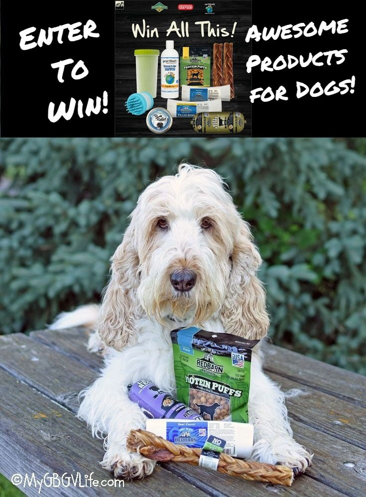 "My GBGV Life Your Dog Says, ""Enter The Red Barn Hot Summer Giveaway!"""