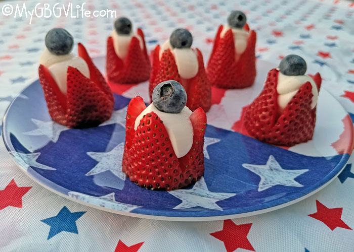 My GBGV Life 4th Of July Strawberry Poppers For Pups And People