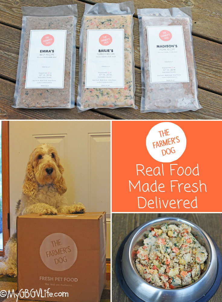 My GBGV Life Homemade Meals For Your Dog - The Farmer's Dog