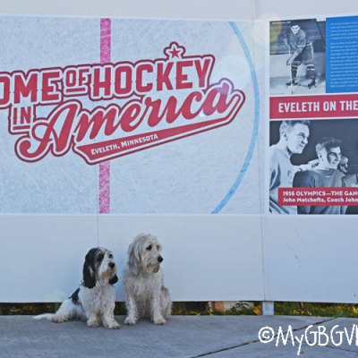Bailie And Madison At The Home Of Hockey In America