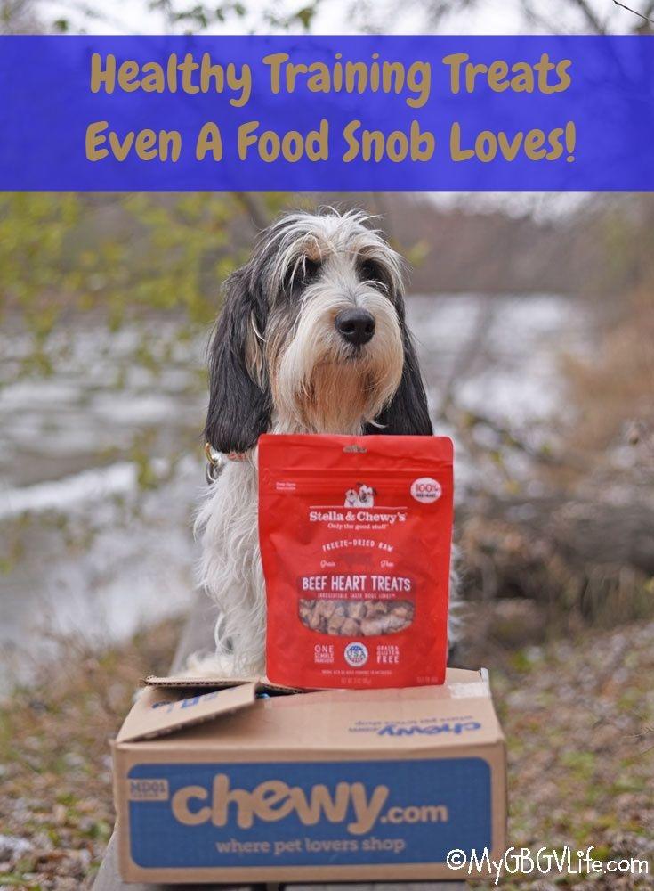 My GBGV Life Healthy Training Treats For The Family Food Snob #ChewyInfluencer