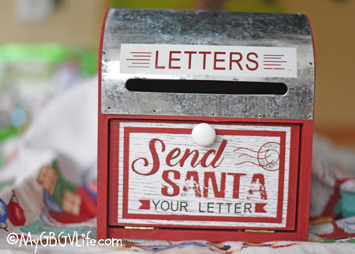 Letters to Santa Claus Mailbox