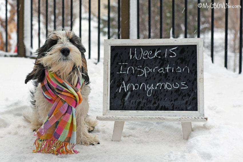 My GBGV Life Inspiration - Anonymous #DogwoodWeek15