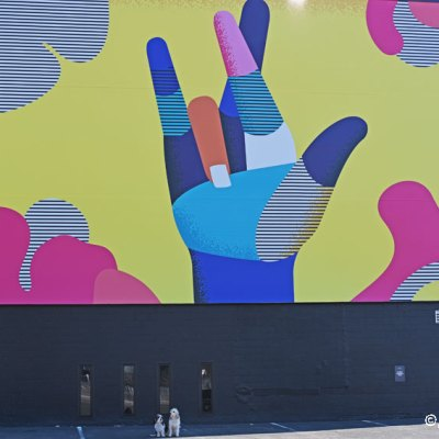 Sign Language Mural – We Really Love You