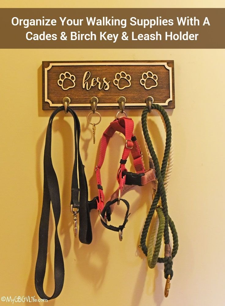 My GBGV Life A Leash And Key Holder To Organize Walking Gear
