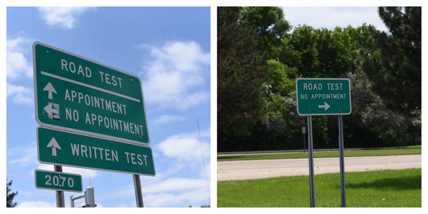 My GBGV Life testing signs
