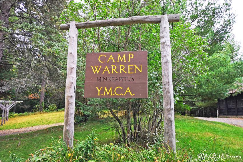 My GBGV Life camp sign