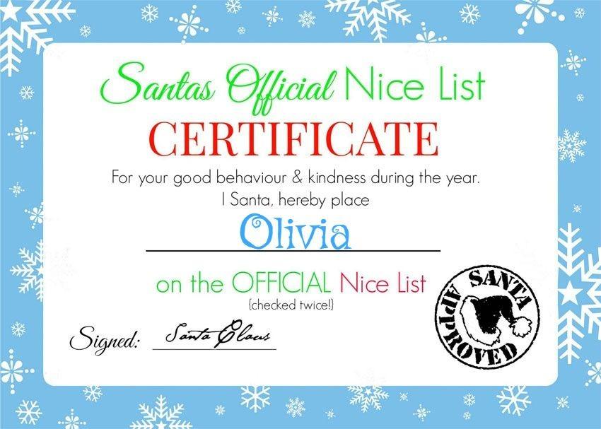 My GBGV Life Olivias certificate