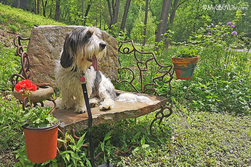 My GBGV Life stone bench
