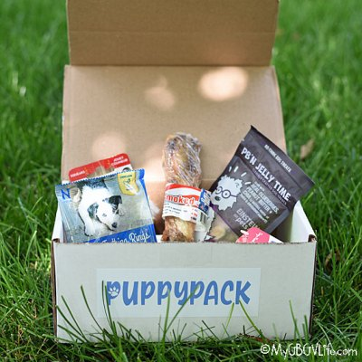 My GBGV Life PuppyPack - A New Way To Spoil Your Furry Friend