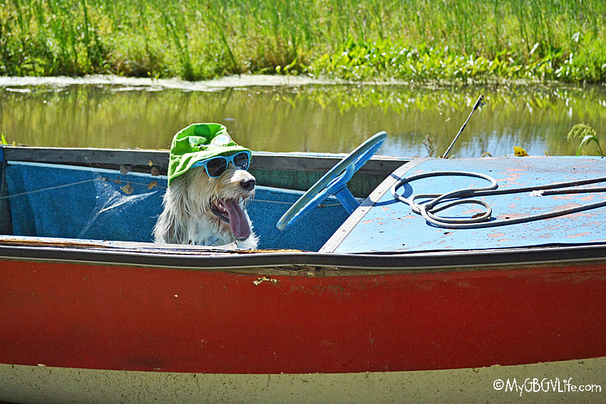 My GBGV Life Bailie in the boat