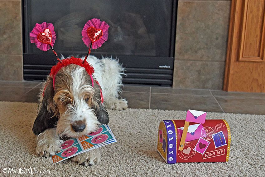 My GBGV Life sniffin' the Valentine