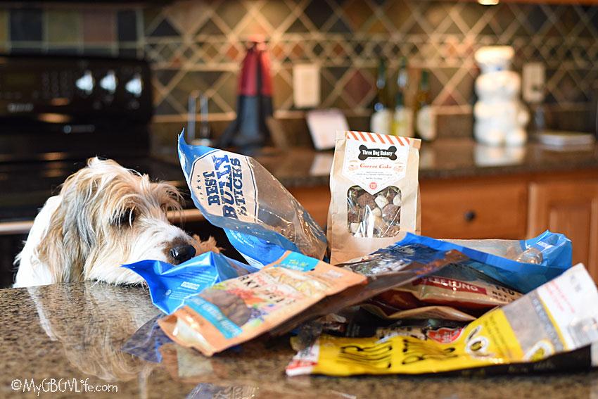 My GBGV Life packing snacks