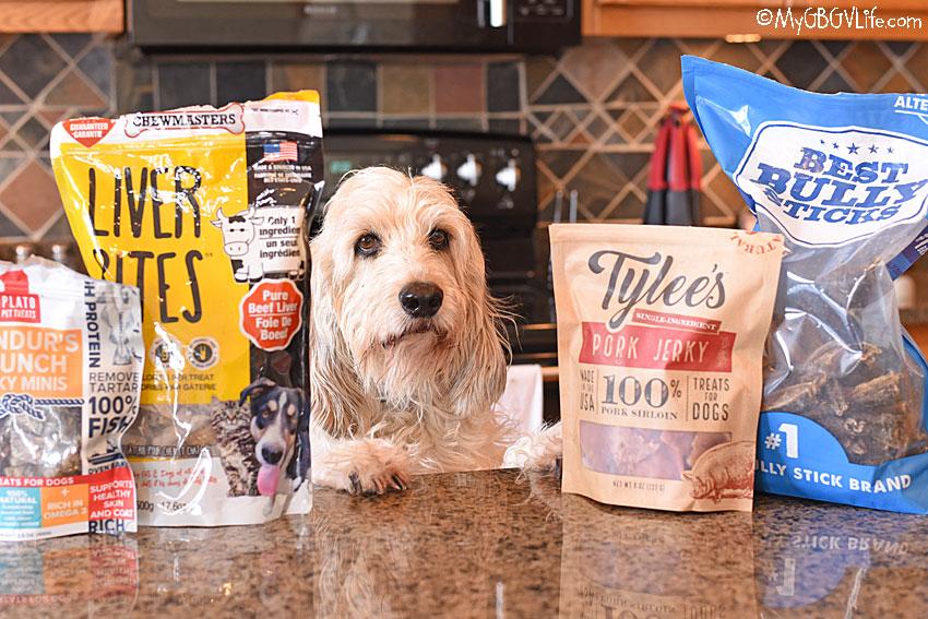 My GBGV Life endless dog treats