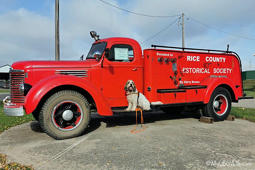 My GBGV Life fire truck