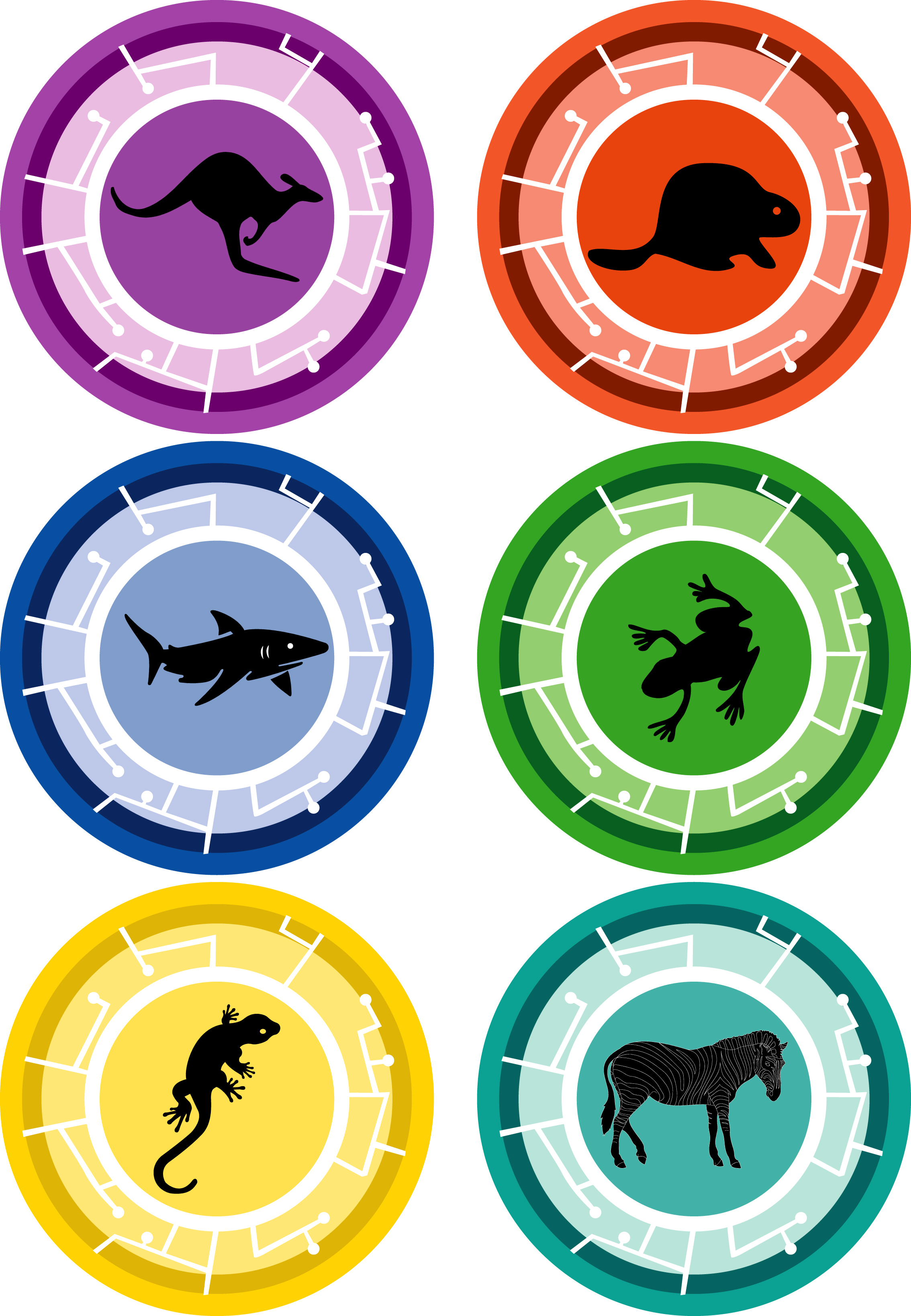 image regarding Wild Kratts Creature Power Discs Printable named Wild Kratts Creature Electricity Disks