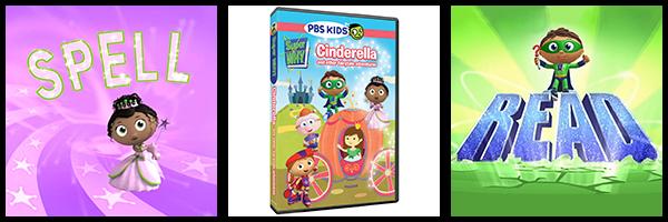 Super Why Cinderella Dvd