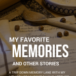 My Favorite Memory – Baking