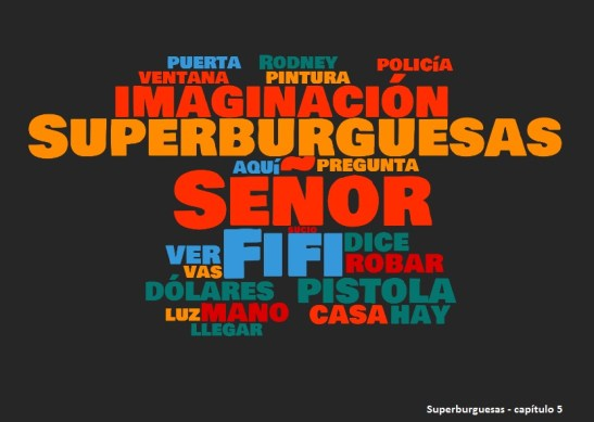 superburguesas cap 5 word cloud