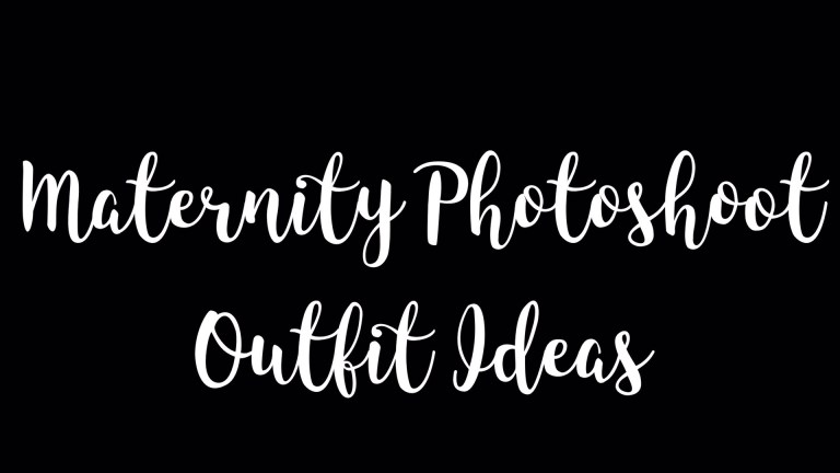 Maternity Photo Outfit Ideas