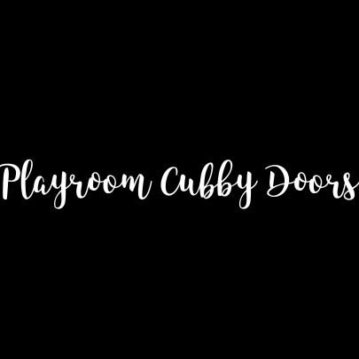DIY Cubby Cabinet Doors