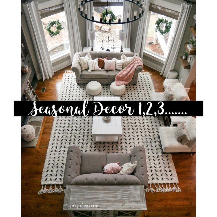Seasonal Decor 1,2,3….