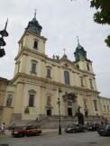 The church where Chopin's heart lies