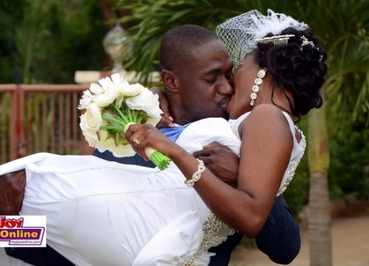 PHOTOS: Adom FM's Ohemaa Woyeje Marries