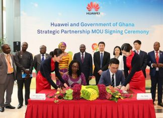 Huawei receives Vice President of Ghana both side look forward to further deepening cooperation and speed up national ICT implementation