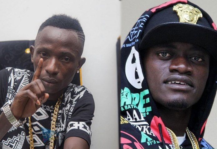 VIDEO: Lil Win and Patapaa fight over 'One Corner' song