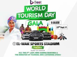 Kaya Tours powers the 1st Annual World Tourism Day Gala