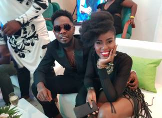 PHOTOS: Mzvee shows class at the inaugural NFF Awards in Nigeria