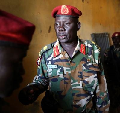 South Sudan general on UN blacklist fired