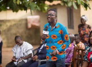 Nana Appiah Mensah Commences NAM Mission Nationwide Tour