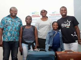 PHOTOS: Abeiku Santana's Kaya Tours selects 2 children to represent Ghana at the ICF in Turkey