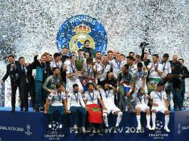 Real Madrid beat Liverpool to win 3rd UCL title in a row