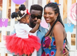 PHOTOS: Sarkodie marries long-term fiancee Tracy