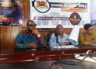 Ghana Actors' Guild to elect new national executive members